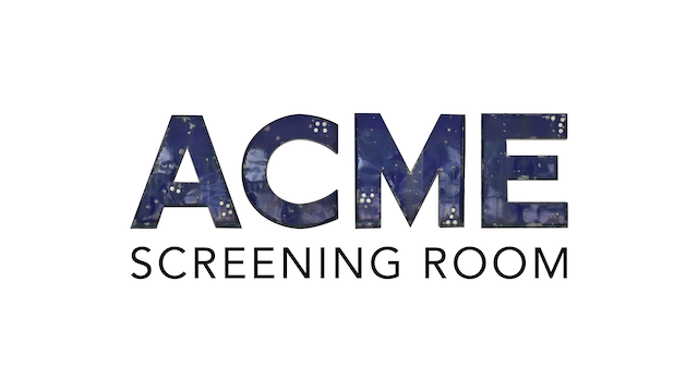 DIANA KENNEDY for ACME Screening Room