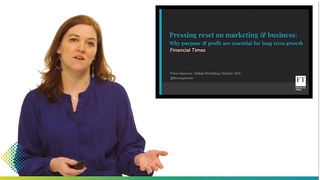 1. Fiona Spooner, The Financial Times - Pressing Reset On Marketing & Business