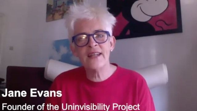 9. Jane Evans, The Uninvisibility Project In Conversation With Paul Frampton
