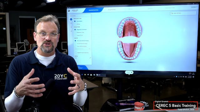 CEREC 5 Basic Training How To Set Up ...