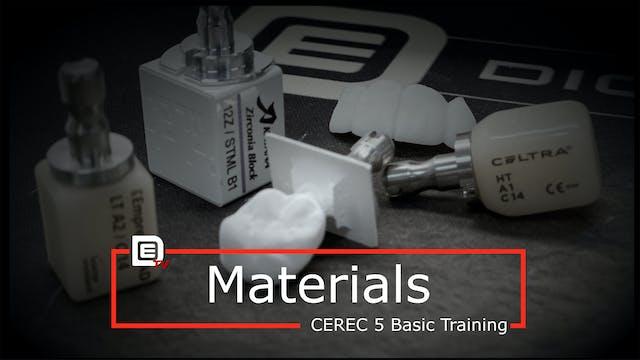 CEREC Materials