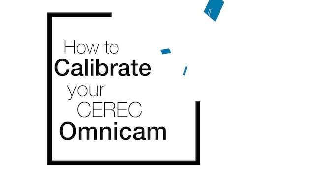 Calibrate the Omnicam
