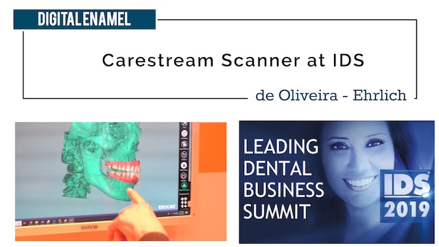 Carestream Scanner and Milling Unit Discussed