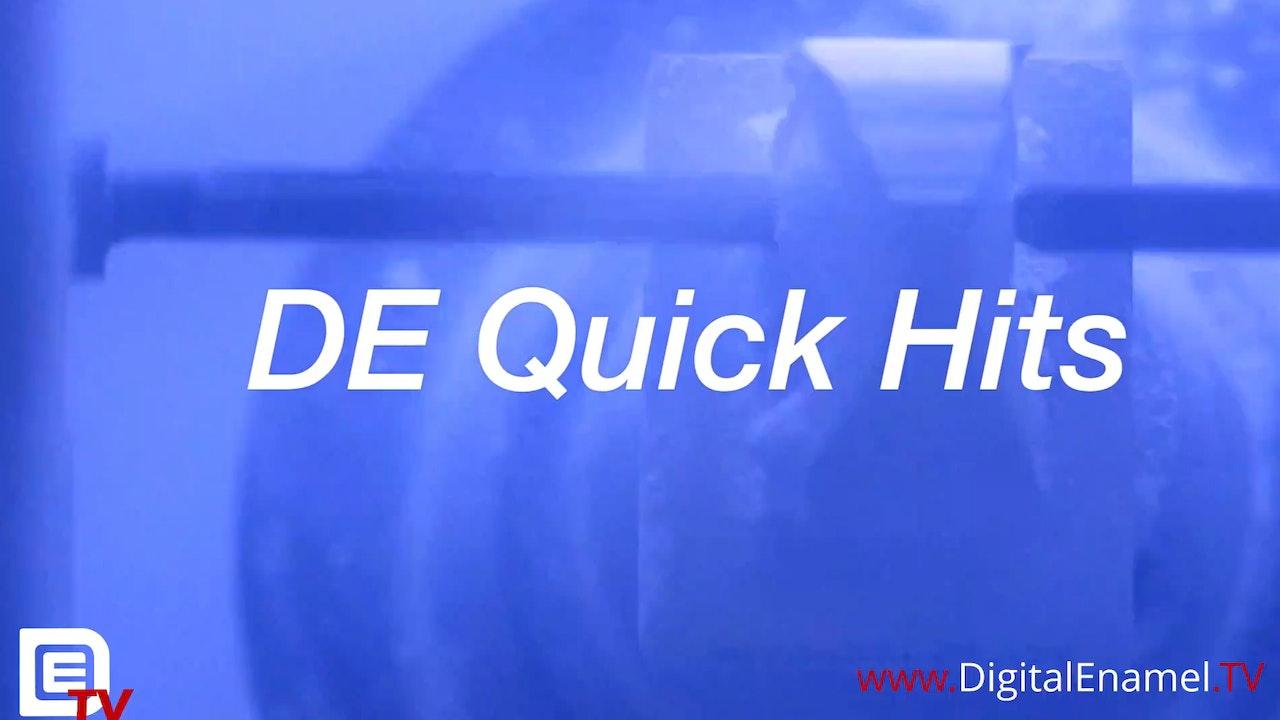 DE Quick Hits