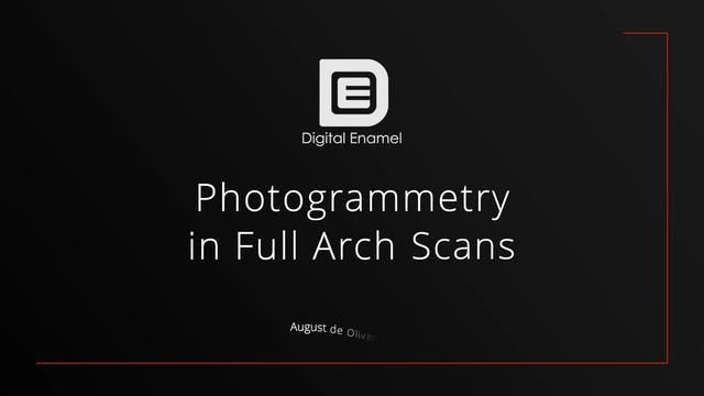 Photogrammetry in Full Arch Scans