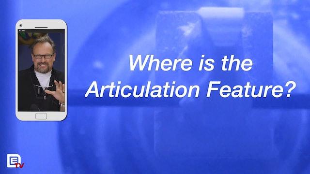 Articulation Feature!