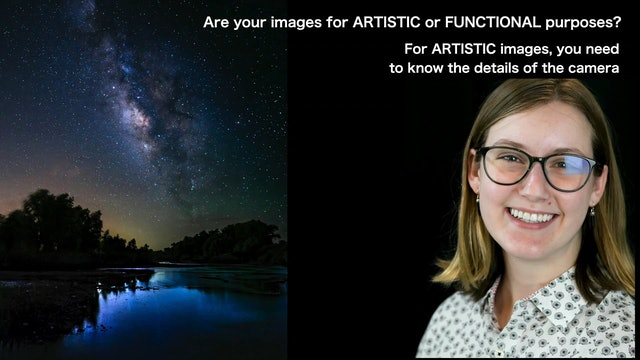 Artistic vs Functional Pictures