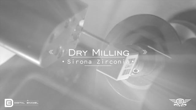 Sirona Speed Fire Milling Slow Motion