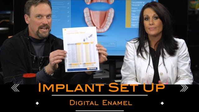 Open Margins CEREC Implant Set Up