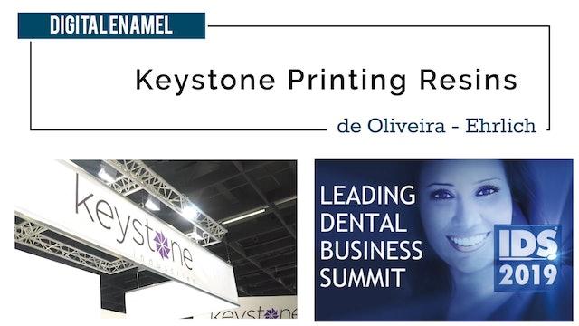 Keystone Resins for Dental Printers