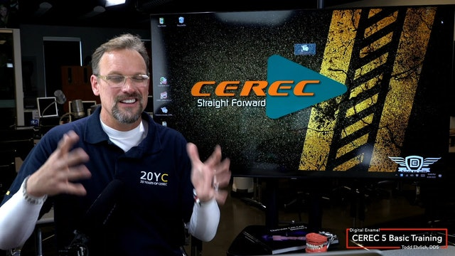 CEREC 5 Basic Training Starting CEREC Software