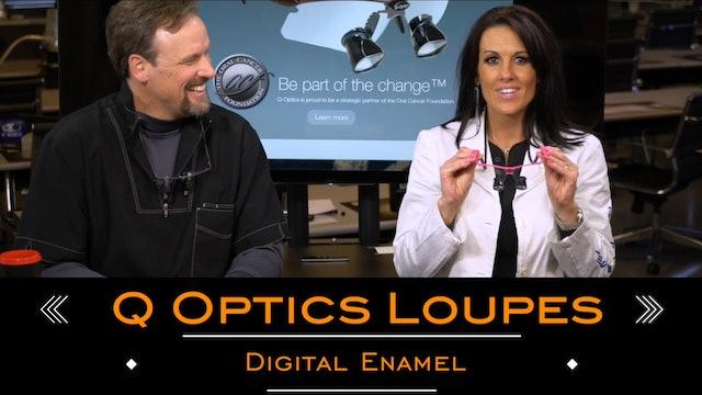 Open Margins Q Optics Loupes Rock