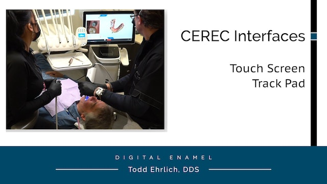 CEREC Touch Screen and Keyboard