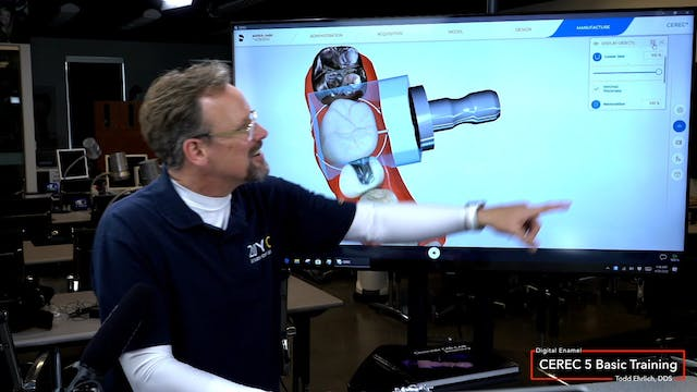 CEREC 5 Basic Training The Manufactur...