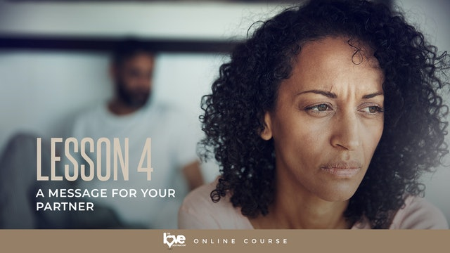 Lesson 4 - Message for your Partner