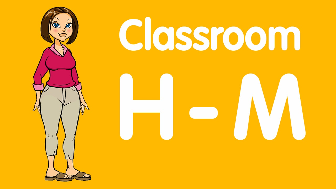 Teacher Lessons: H-M
