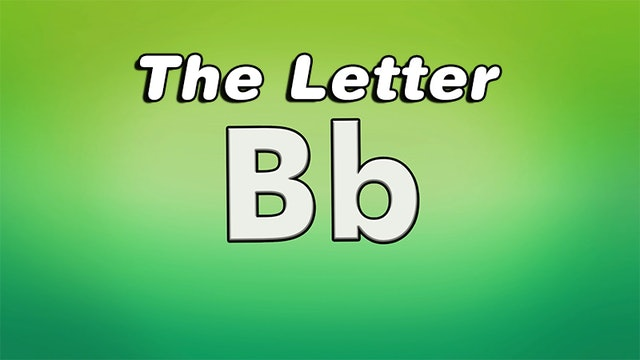 The Letter B - TV Show