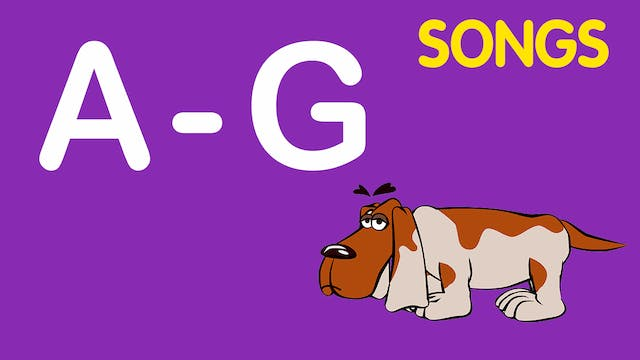Learning Letters: A-G