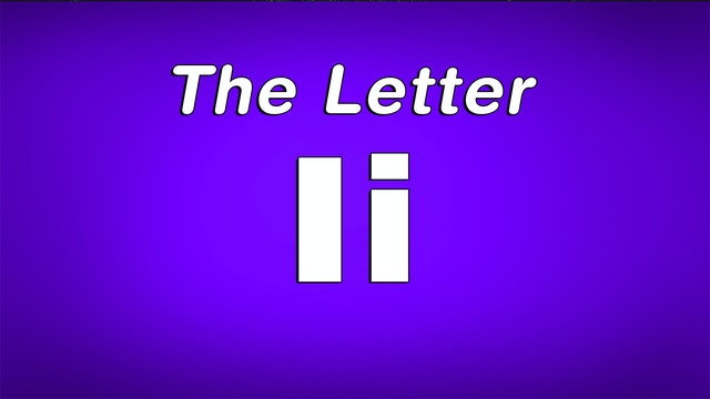 The Letter I - TV Show