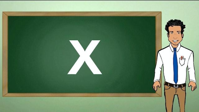 La Letra X (The Letter X)