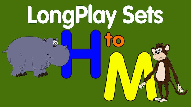 Lesson & Song Sets for Letters H-M