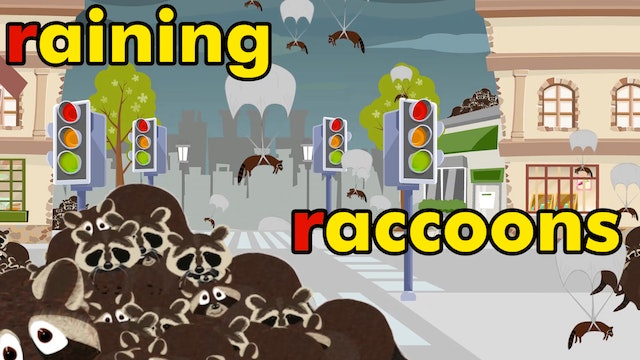 It's Raining Raccoons