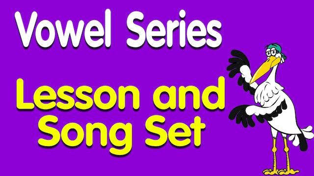 Vowel Lesson Set
