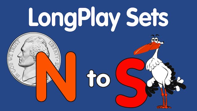 Lesson & Song Sets for Letters N-S