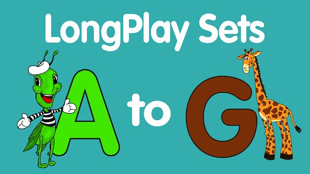 Lesson & Song Sets for Letters A-G