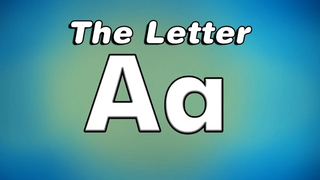 The Letter A - TV Show