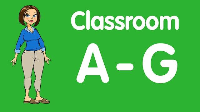 Teacher Lessons: A-G