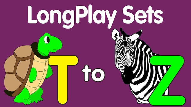 Lesson & Song Sets for Letters T-Z