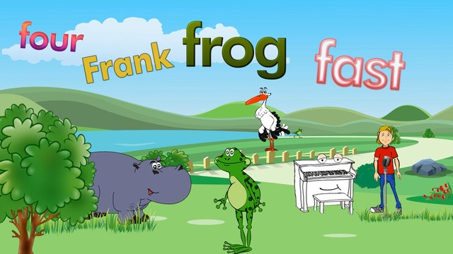 Four Legged Frank The Frog Is Fast