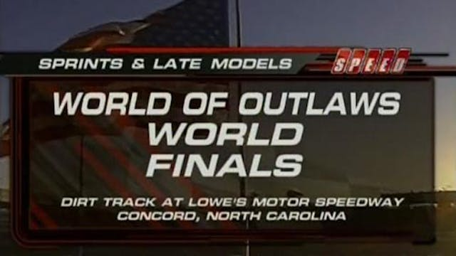 11.3.07 | The Dirt Track at Charlotte
