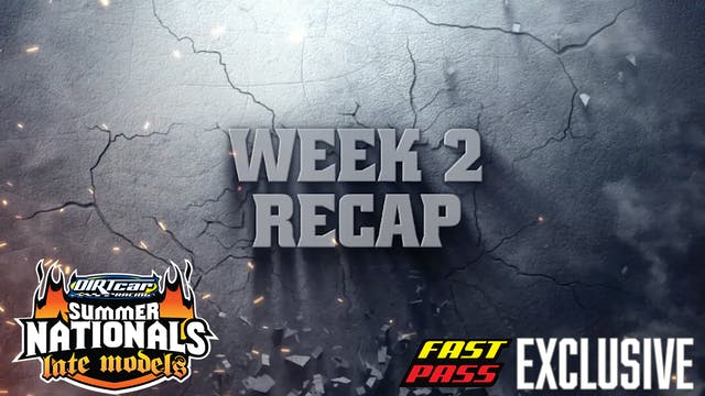 Week 2 Recap