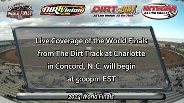 11.6.14 | The Dirt Track at Charlotte