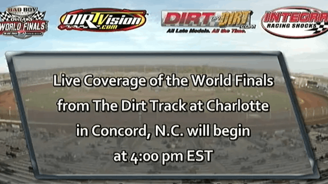 11.8.14   The Dirt Track at Charlotte
