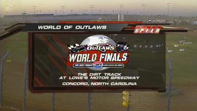 11.7.09 | The Dirt Track at Charlotte