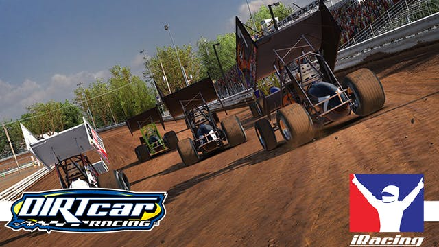 DIRTcar eSports 360 Sprint Cars