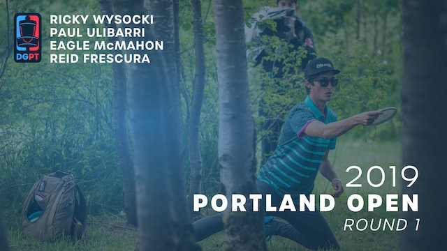 2019 Portland Open Live Replay - MPO Round 1