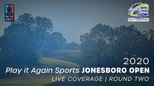 2020 Jonesboro Open Live | Round Two