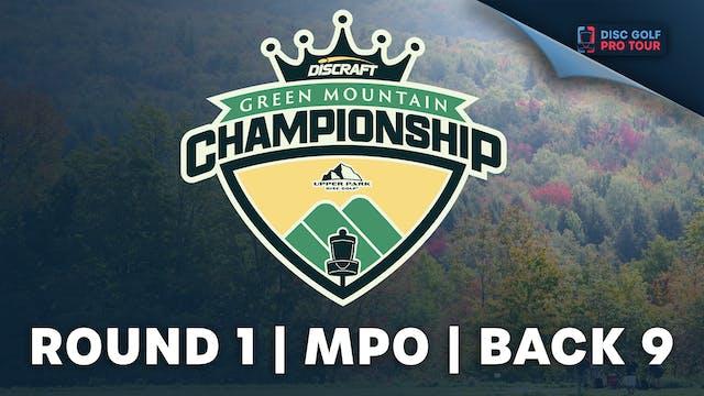Round 1, Men's Back   Green Mountain ...
