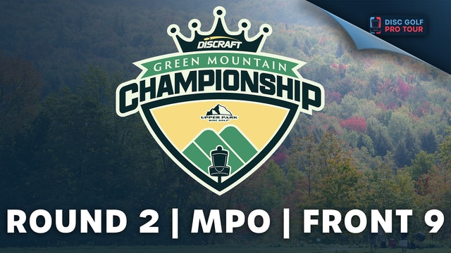 Round 2 | Men's Front | Green Mountain Championship Presented by Upper Park