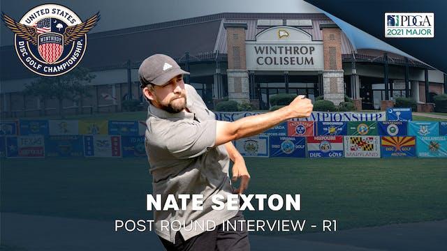 USDGC Round 1 - Post Round Interview - Nate Sexton