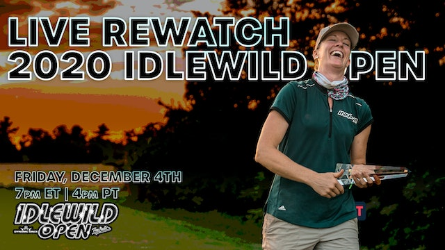 2020 Idlewild Open ReWatch with Ellen Widboom