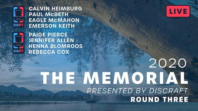 2020 Memorial Live | Round Three
