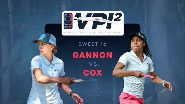 Rebecca Cox vs Missy Gannon | VPI2 | ...