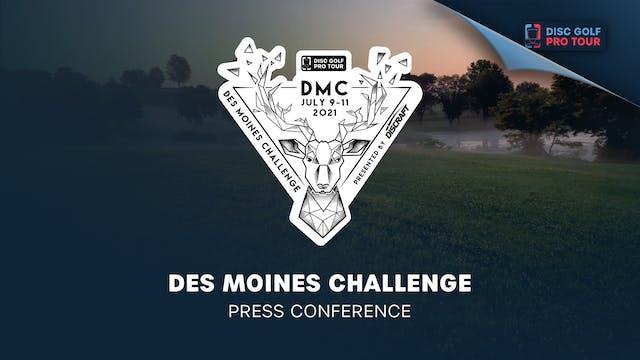 Des Moines Challenge   Press Conference