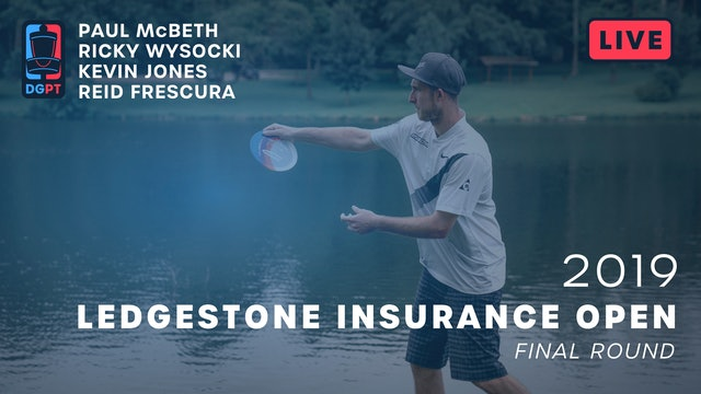 2019 Ledgestone Insurance Open Live Replay - MPO Final Round