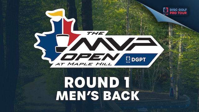 Round 1, Men's Back | MVP Open